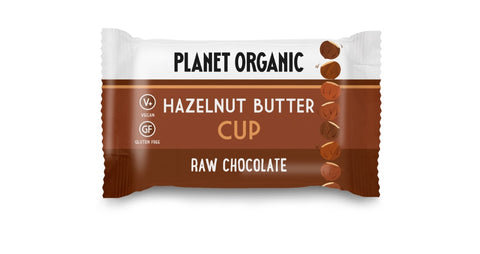 Planet Organic Hazelnut Butter Cup (15x25g)