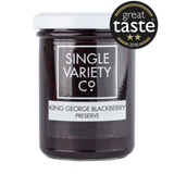 Single Variety King George Blackberry Preserve  (6x220g)