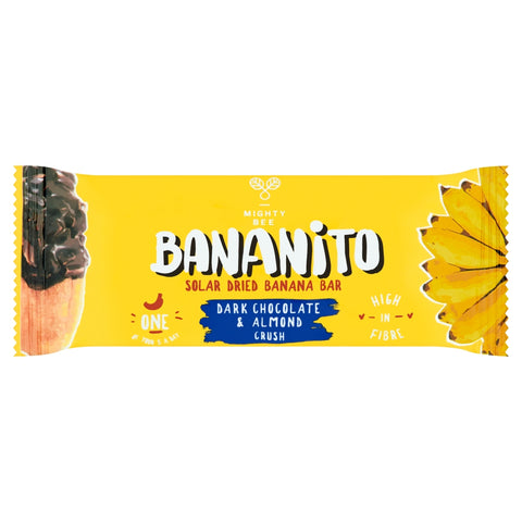 Mighty Bee's Bananito Chocolate & Almond (12x30g)