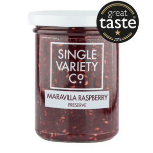 Single Variety Maravilla Raspberry Preserve (6x220g)