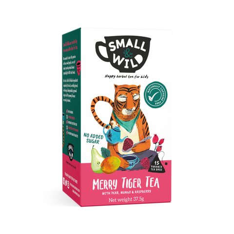 Smalll & Wild - Merry Tiger Tea (6x15bags)