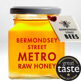 Bermondsey Street Bees Metro Label - Creamed Somerset Ling Heather Honey (6x330g)