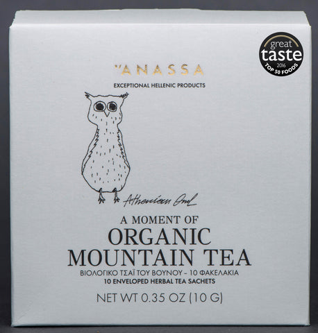 Anassa Organics Mountain Tea (8x10 bags)