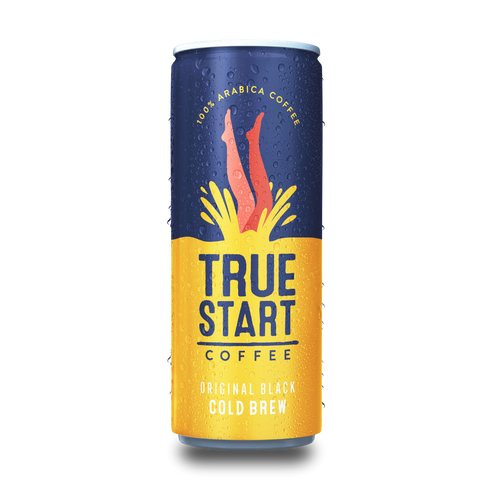 TrueStart Coffee - Cold Brew Coffee - Original Black (24x250ml)