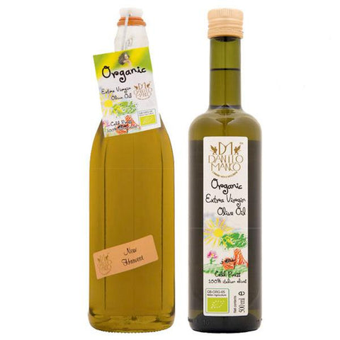 The Olive Oil Company Organic Extra Virgin Olive Oil (12x500ml)