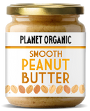 Planet Organic Smooth Peanut Butter (6x170g)