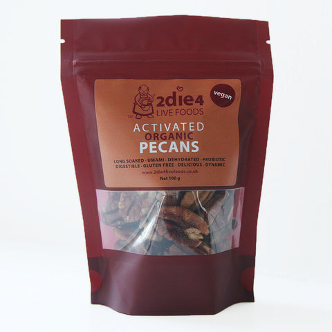 2die4 Activated Pecans (6x100g)