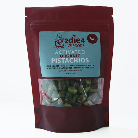 2die4 Activated Pistachio (6x100g)