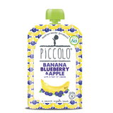 Piccolo Foods Blueberry with Banana and a hint of Vanilla (5x100g)