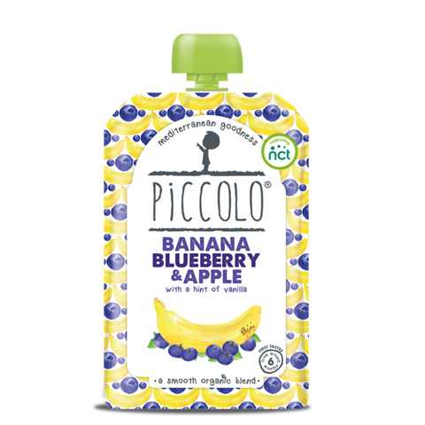 Piccolo Foods Blueberry with Banana (5x100g)