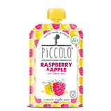 Piccolo Foods Raspberry & Apple with Soaked Oats (5x100g)