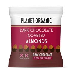 Planet Organic Dark Chocolate Covered Almonds (12x30g)