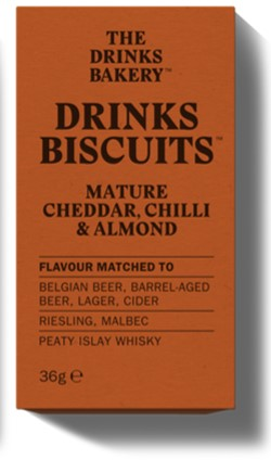 The Drinks Bakery Parmesan Mature Cheddar, Chilli & Almond 'Luxury Sharing Pack' (14x110g)