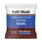 Planet Organic Dark Chocolate Covered Raisins (12x40g)