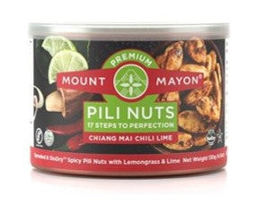 Mount Mayon Pili Nuts with Chiang Mai Chilli Lime (6x130g)