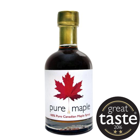 Pure Maple Grade A Dark  Robust Taste Maple Syrup (6x330g)