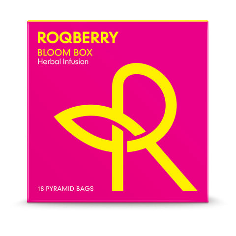 Roqberry Bloom Box - Herbal Infusion - 18 Bags (6x27g)