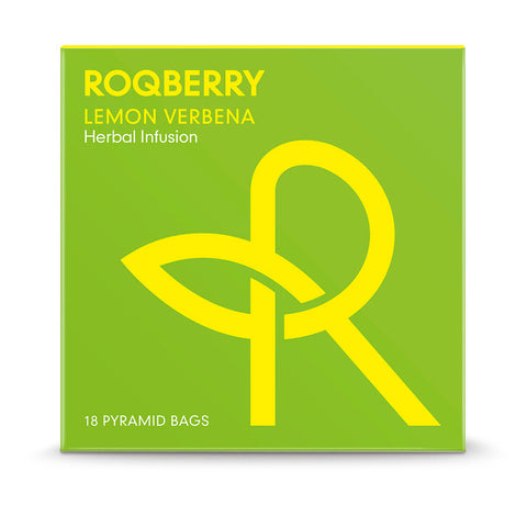 Roqberry Lemon Verbena - Herbal Infusion - 18 Bags (6x45g)