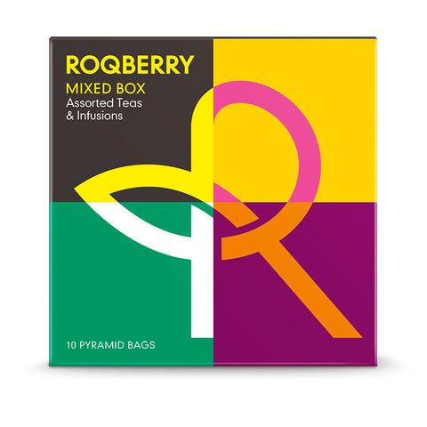 Roqberry Mixed Box - Tea Assortment - 10 Bags (6x25g)