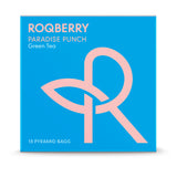 Roqberry Paradise Punch - Green Tea - 18 Bags (6x54g)
