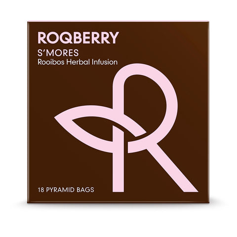 Roqberry S'Mores - Rooibos Herbal Infusion - 18 Bags (6x45g)