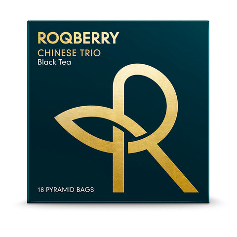 Roqberry Chinese Trio  - Black Tea (Legends) - 18 Bags (6x45g)