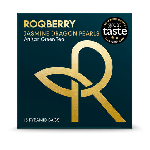 Roqberry Jasmine Dragon Pearls  - Green Tea (Legends) - 18 Bags (6x36g)