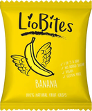 LioBites Freeze-Dried Banana Crisps (15x14g)