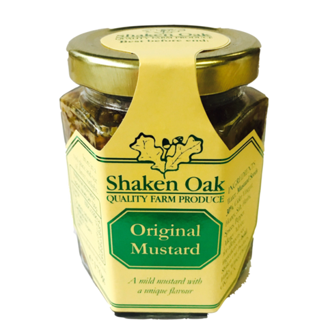 Shaken Oak Products Original Mustard (12x170g)