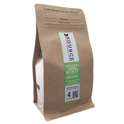 Source Coffee Organic Uganda Mount Elgon (Ground) (6x227g)