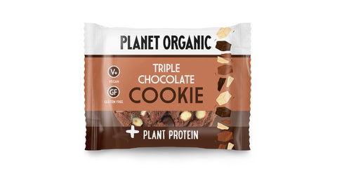 Planet Organic Protein Cookie Triple Chocolate  (12x50g)