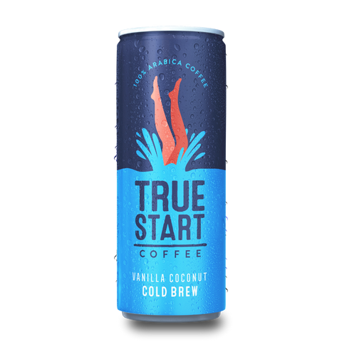 TrueStart Coffee - Cold Brew Coffee - Vanilla Coconut (24x250ml)