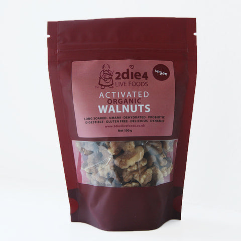 2die4 Activated Walnuts (6x100g)