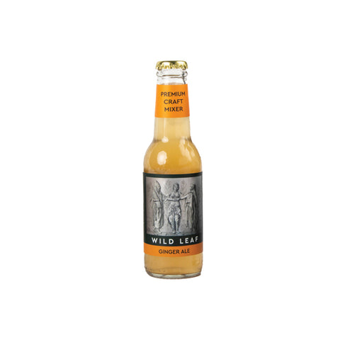 Wild Leaf Premium Craft Ginger Ale (24x200ml)