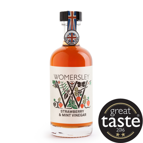 Womersley Strawberry & Mint Vinegar (6 x 100ml)