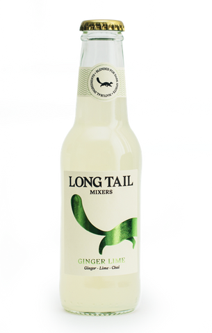 Long Tail Mixers Ginger & Lime (24x340g)