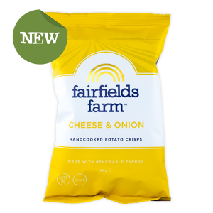 Fairfields Farm Crisps Fairfields Farm Crisps Farmhouse Cheese & Onion (24x40g)