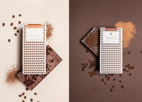 Love Cocoa - Organic Milk Chocolate with Crushed Coffee (12 x 80g)