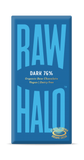 Raw Halo Dark 76% ORG Raw Choc (10x70g)