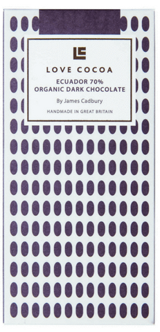 Love Cocoa - 70% Organic Dark Chocolate Bar (12 x 80g)