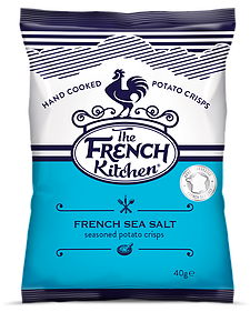 French Kitchen Crisps French Sea Salt (24 x 40g)