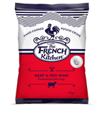French Kitchen Crisps Beef and Red Wine (24 x 40g)