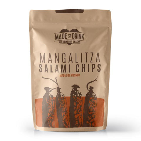 Made for Drink - Mangalitza Salami Chips (15x23g)