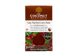 The Coconut Kitchen Easy Thai Red Curry Paste Sachet (6 x 2x65g)