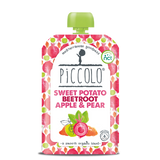 Piccolo Foods Sweet Potato, Beetroot, Pear & Apple (5x100g)