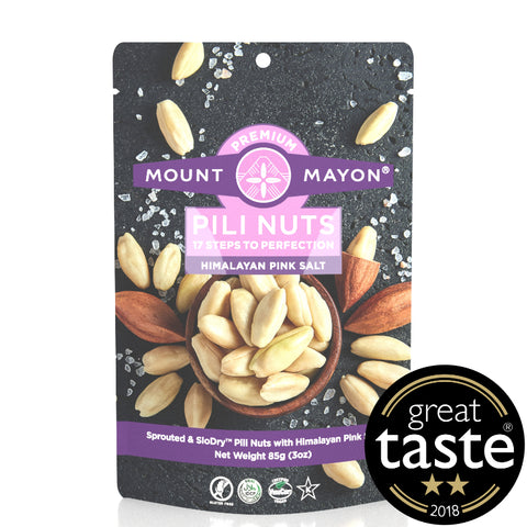 Mount Mayon Pili Nuts with Himalayan Pink Salt (12x85g)