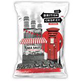 British Crisp Co Sea Salt Handcooked Crisps (26x40g)