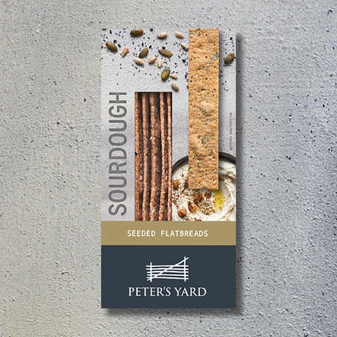 Peter's Yard Seeded Flatbread (6x135g)