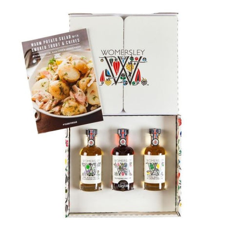 Womersely 3x100ml Gift Pack - Raspberry, Lemon Lime Basil Bay & Juniper, Lime Black Pepper & Lavender (Case of 6)