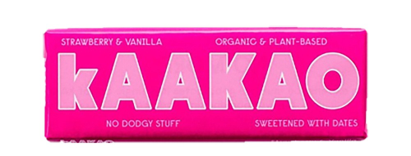 Kaakao Strawberry & Vanilla Bar (12x40g)